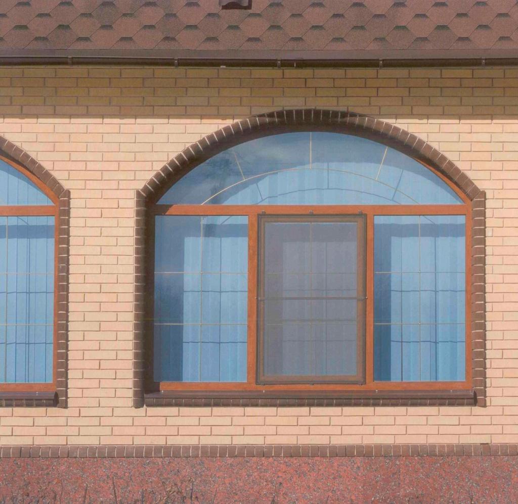 Арочные окна в частном доме фото пола предпочтителен